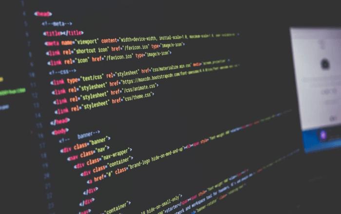 プログラミングの作業画面